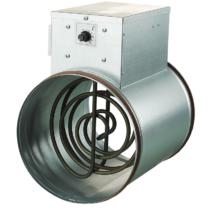 Vents NK 125 U Elektromos Fűtőelem 1200 W 1 Fázisú Beépített Hőmérséklet-szabályozóval