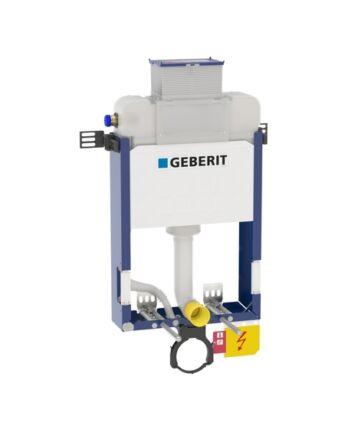 Geberit alacsony (98cm) Kombifix WC szerelőelem fali WC részére, Kappa öblítőtartállyal