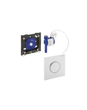 Geberit Sigma10 pneumatikus vizelde vezérlés (fekete / fényes króm / fekete)