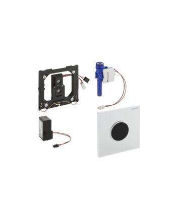 Geberit Sigma10 automata vizelde vezérlés, infravörös, hálózati (fehér / aranyozott / fehér)