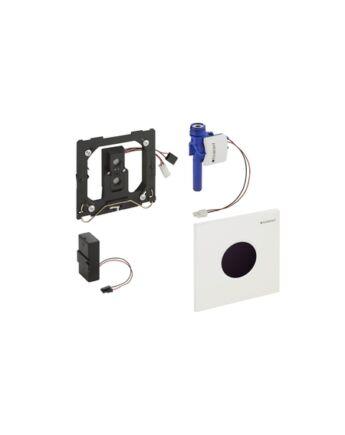 Geberit Sigma01 automata vizelde vezérlés, infravörös, hálózati (Matt Króm)