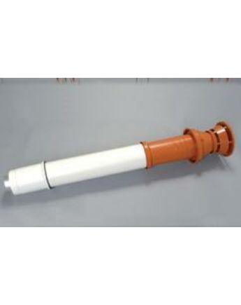 Saunier Duval Füstgázkivezető tetőelem, L = 1200 mm