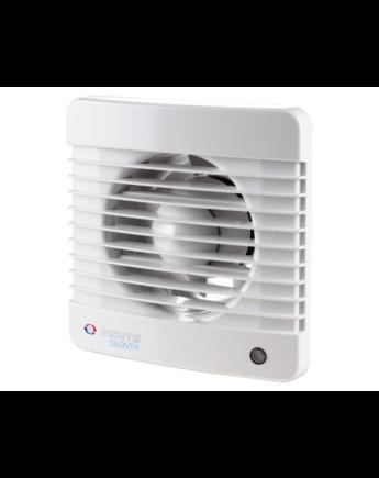 Vents 150 Silenta-MTH Alacsony Zajszintű és Energiafogyasztású Ventilátor Páraérzékelővel és Időkapcsolóval