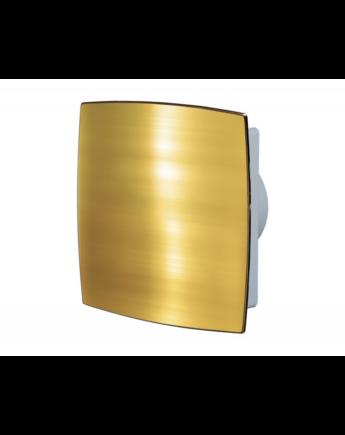 Vents 125 LDTH AUTO Automata zsaluval és zárt előlappal (arany) Időkapcsolóval és Páraérzékelővel