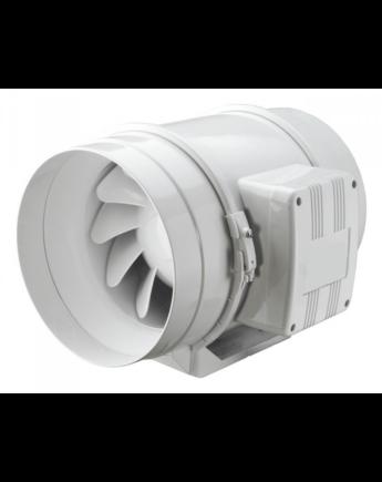 Vents TT 125 Nagyteljesítményű Ipari Csatornaventilátor Műanyag Házzal 2 Fokozatú