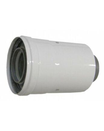 Ariston Függőleges indítóidom, alu/pp, Ø60/100 mm