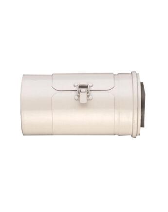 Ariston Egyenes tisztító, alu/pps 60/100 mm