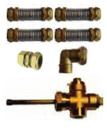 Immergas Csatlakozó készlet 4 darab ES2V/5,23S vagy ES2V/10,41S kollektorhoz